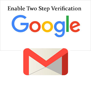 Enable Two Step Verification Gmail
