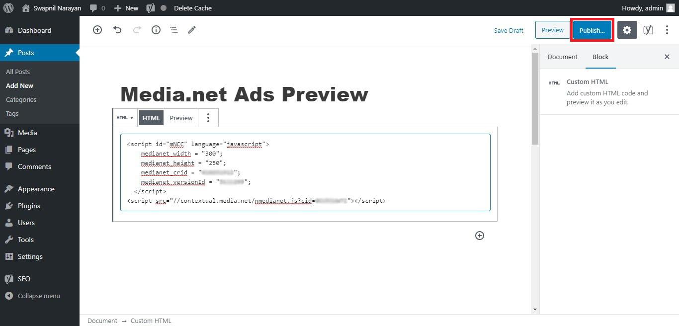 Ads Code.